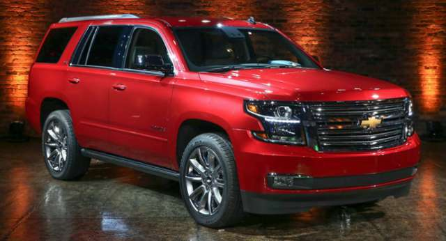 Suvsandcrossovers.com 2017 SUV And Crossover Buying Guide: ''2017 Chevy Tahoe '' Reviews, Price, Features