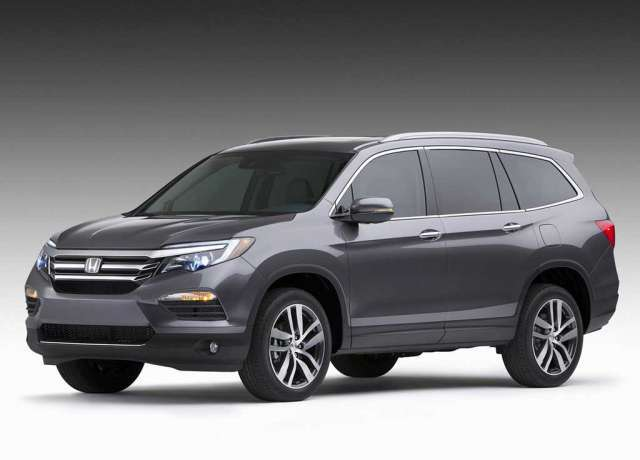 Suvsandcrossovers.com 2017 SUV And Crossover Buying Guide: ''2017 Honda Pilot '' Reviews, Price, Features