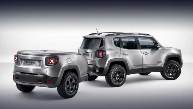 Suvsandcrossovers All New 2017 Jeep Renegade Trailhawk Models